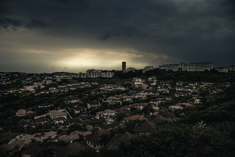 Umhlanga before a storm
